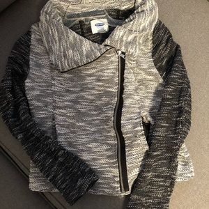 Old Navy Zipper Two-Tone Jacket